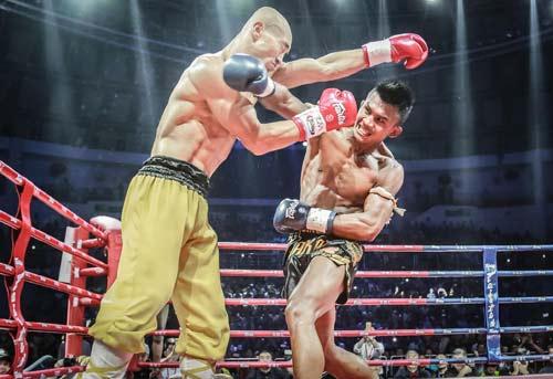"""Chán đấu Buakaw, """"Đệ nhất Thiếu Lâm"""" lấn sân Hollywood - 1"""