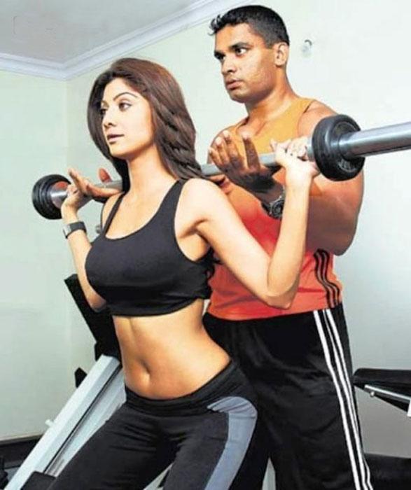 Bi quyet tre mai cua Shilpa Shetty - 4