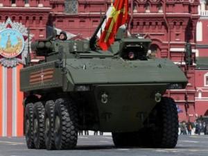 """Thế giới - Bumerang - xe bọc thép """"không thể tiêu diệt"""" của Nga"""