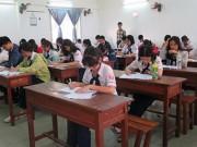 Giáo dục - du học - Một tháng thi thử một lần, học sinh bơ phờ