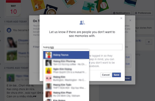 """Cách ngăn Facebook """"đào mộ"""" hình ảnh người yêu cũ - 1"""