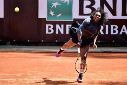 """Serena - Friedsam: Vẫn """"chạy"""" tốt (V2 Rome Masters) - 1"""