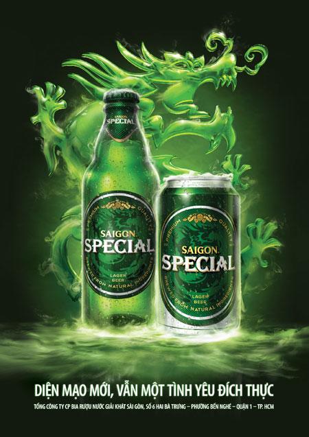 Diện mạo hoàn toàn mới của bia Saigon Special - 2