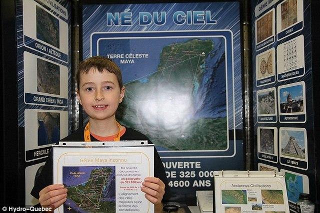 Cậu bé Canada suy đoán tìm ra thành cổ Maya cách 3500km - 1