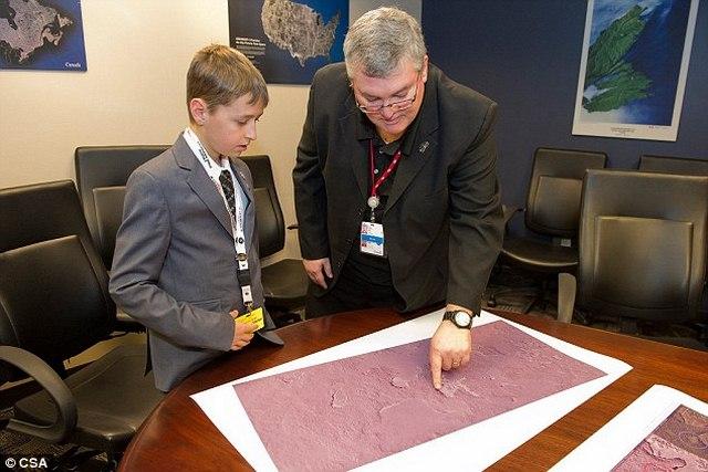 Cậu bé Canada suy đoán tìm ra thành cổ Maya cách 3500km - 2
