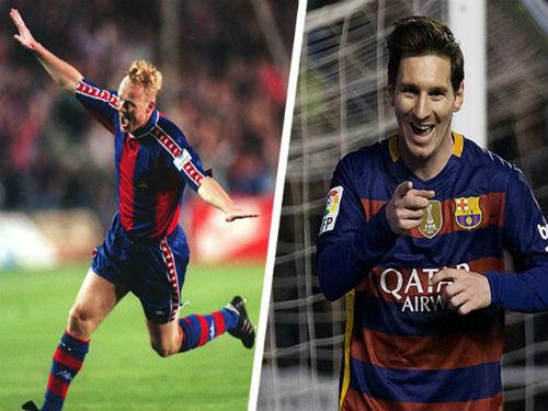 """""""Vua đá phạt"""" Barca: Messi sánh ngang huyền thoại - 1"""