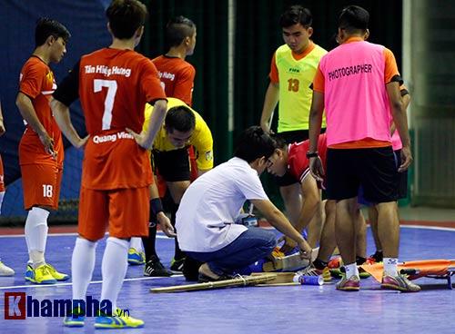 Nhập viện gấp, SAO futsal VN có thể lỡ World Cup - 4