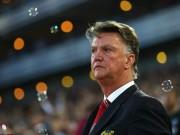 Bóng đá - MU thua ngược, Van Gaal vẫn lạc quan dự cúp C1