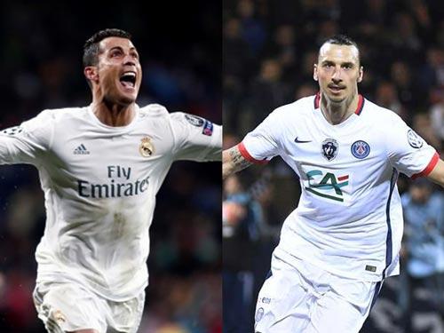 """PSG mua Ronaldo giữ Ibrahimovic để lập """"song sát"""" - 1"""