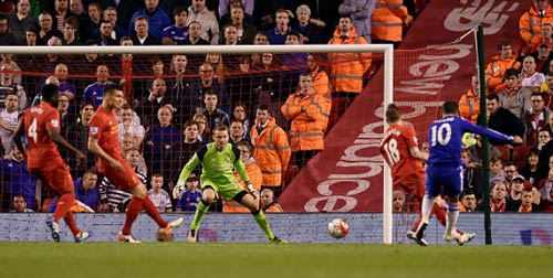 Video Liverpool vs Chelsea - 1