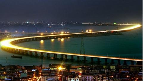 Chiêm ngưỡng 10 cây cầu dài nhất thế giới - 10