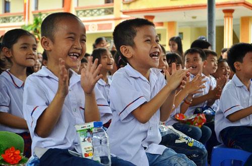 Vinamilk và Quỹ sữa Vươn cao VN tặng sữa cho 40.000 trẻ em ở 40 tỉnh - 5