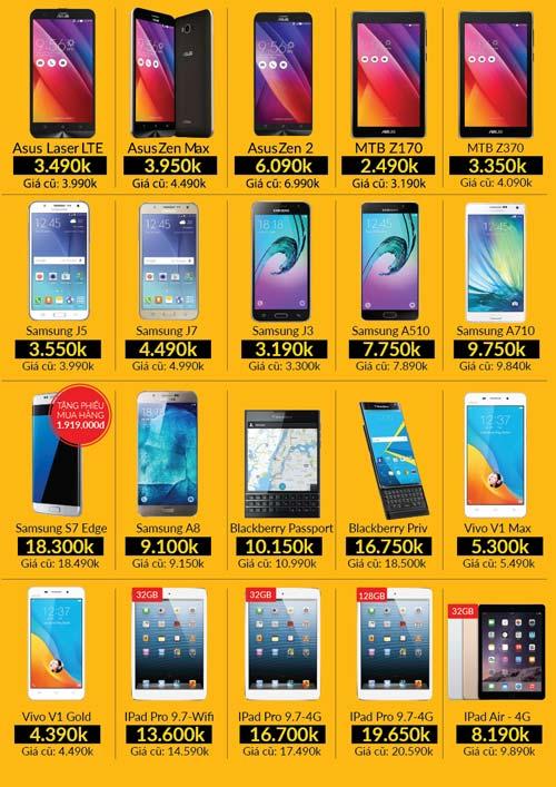 Xả kho smartphone - OPPO F1 3 triệu, iPhone 5S 2.5 triệu đồng - 2