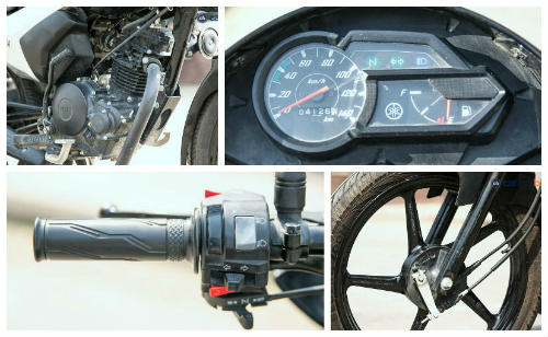 Nên mua xe côn rẻ Yamaha Saluto hay Honda CB Shine SP? - 5