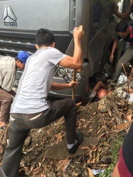 Bác tin người nước ngoài bị xe tải cán chết ở Phú Thọ - 1