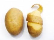Sức khỏe đời sống - Đừng bỏ vỏ khoai tây vì những lợi ích tuyệt vời này