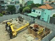 Video An ninh - Cần cẩu đè sập trường mầm non ở trung tâm Sài Gòn