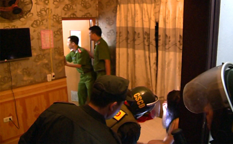 Cuộc mật phục, đột kích động mại dâm ở Thái Bình - 1