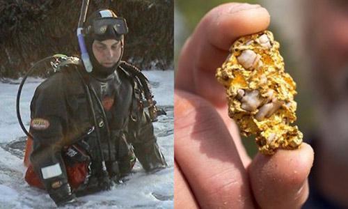 Lặn biển, tìm thấy cục vàng to bằng quả trứng - 1