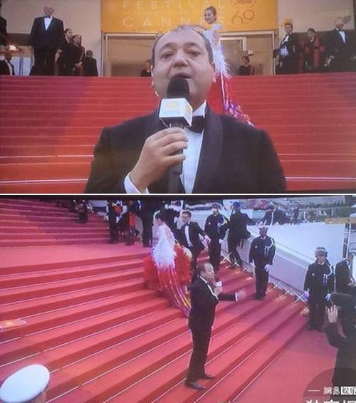 Loạt mỹ nhân TQ bị yêu cầu rời khỏi thảm đỏ Cannes - 3