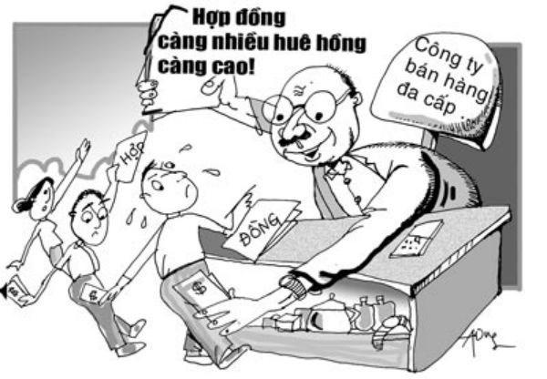 """Hà Nội tiếp tục """"sờ gáy"""" 21 doanh nghiệp bán hàng đa cấp - 1"""