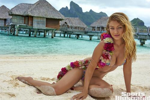 Mẫu 9X hot nhất thế giới bốc lửa với bikini bé xíu - 2