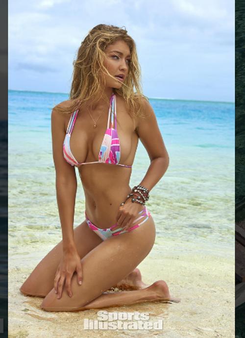 Mẫu 9X hot nhất thế giới bốc lửa với bikini bé xíu - 4