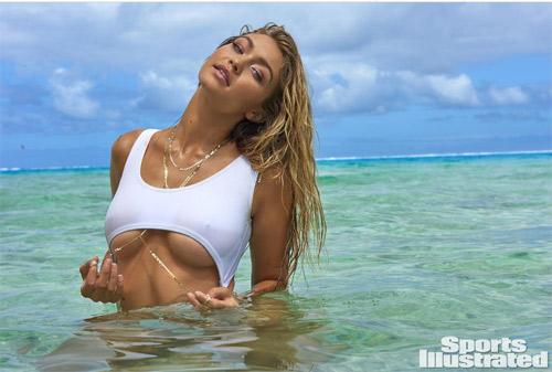Mẫu 9X hot nhất thế giới bốc lửa với bikini bé xíu - 6