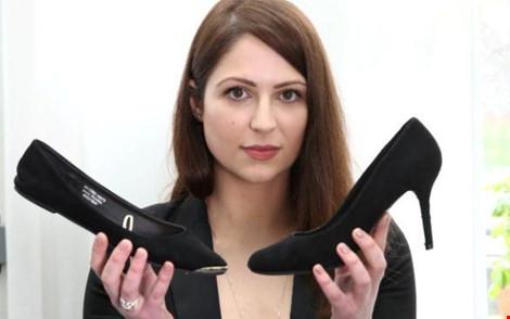 Kiện công ty vì bị bắt mang giày cao gót đi làm - 1