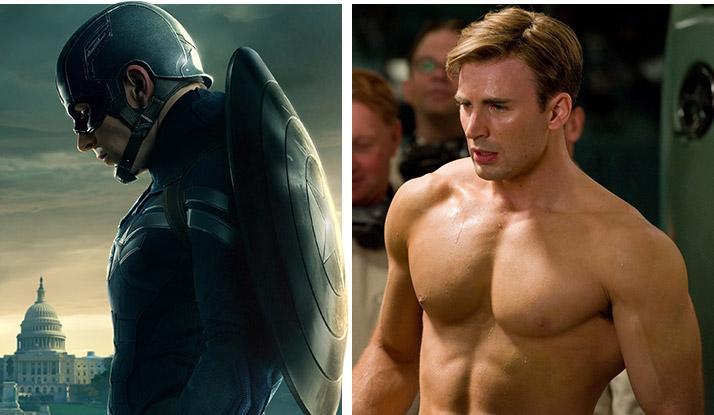 Bí kíp cơ bắp cuồn cuộn của anh hùng Captain American - 1