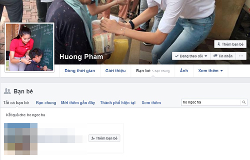 Facebook sao 13/5: Hà Hồ, Phạm Hương hủy kết bạn Facebook? - 2