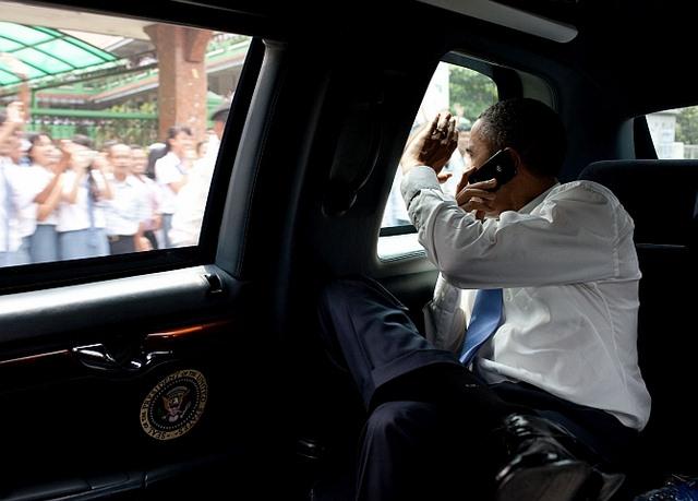 """Khám phá siêu xe """"Quái vật"""" sẽ chở Obama ở Việt Nam - 8"""
