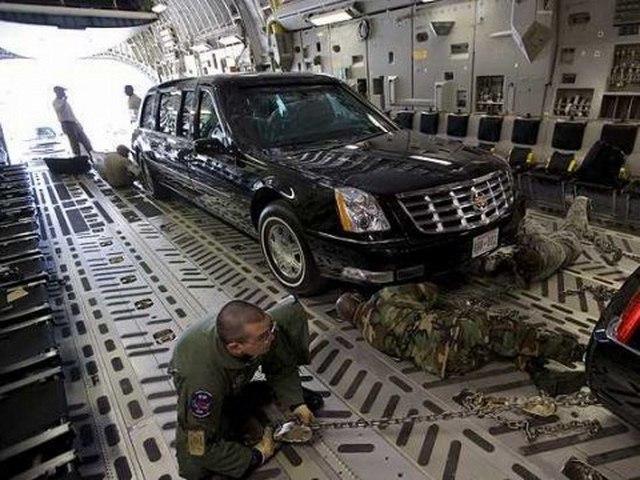 """Khám phá siêu xe """"Quái vật"""" sẽ chở Obama ở Việt Nam - 9"""