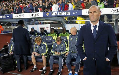 """Real: Zidane vạch sẵn kế hoạch """"cướp cúp"""" của Barca - 1"""