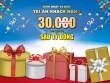 Mừng sinh nhật HC 10 năm tuổi – tặng quà đến 6 tỷ đồng