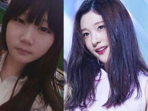 """Vỡ mộng vì nhan sắc nguyên bản của """"nữ thần"""" Hàn Quốc"""