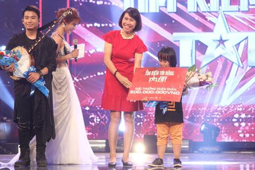 Thần đồng 9 tuổi trở thành quán quân VN Got Talent - 2