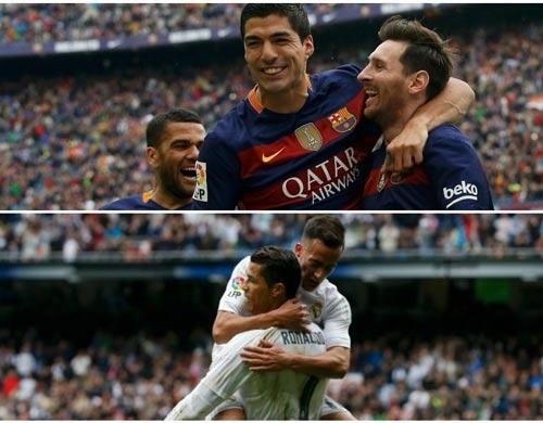 Đua vô địch Liga: 10 điểm tựa cho Barca và Real - 1