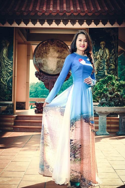 Thi sinh Hoa hậu Biển thướt tha trong tà áo dài - 13