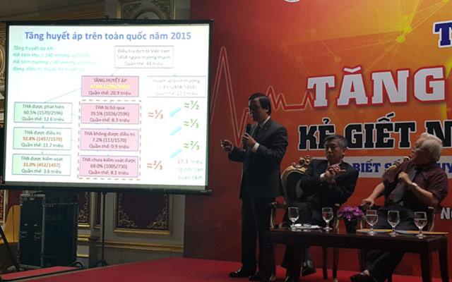 Gần một nửa dân số Việt Nam bị tăng huyết áp - 2