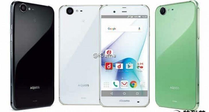 Điện thoại Sharp Aquos Zeta chống nước sắp ra mắt - 1