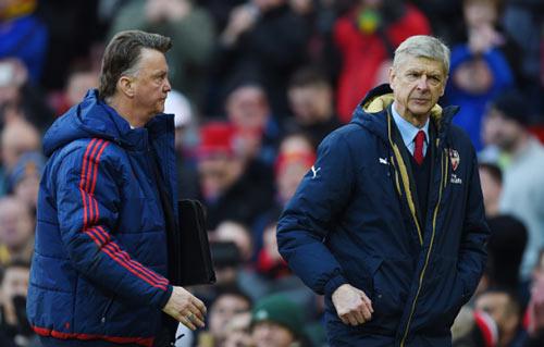 Premier League: Van Gaal, Wenger và những chiếc ghế lung lay - 1
