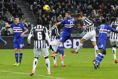 Juventus - Sampdoria: Trả giá vì thẻ đỏ - 1