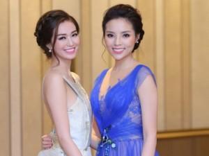 Khánh My đọ vẻ gợi cảm với Hoa hậu Kỳ Duyên