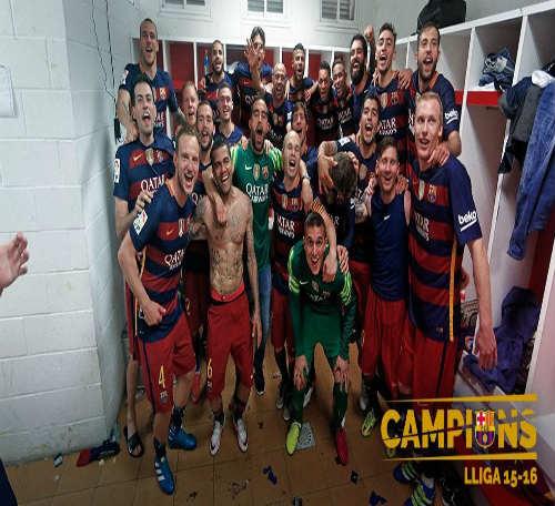 Ảnh: Barca vỡ òa ngày vượt mặt Real, xưng bá Liga - 2