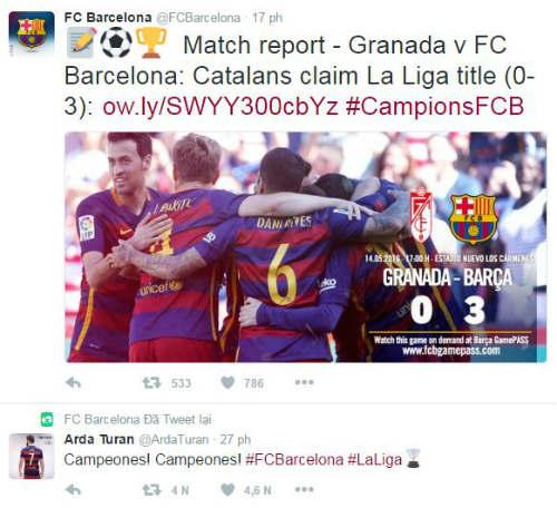 Ảnh: Barca vỡ òa ngày vượt mặt Real, xưng bá Liga - 3