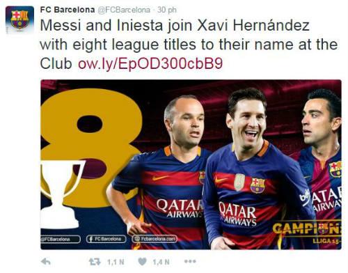 Ảnh: Barca vỡ òa ngày vượt mặt Real, xưng bá Liga - 4