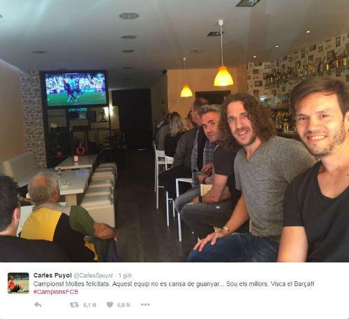 Ảnh: Barca vỡ òa ngày vượt mặt Real, xưng bá Liga - 6