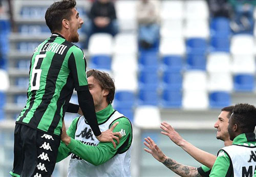 Sassuolo - Inter: Hiệp 1 bùng nổ - 1