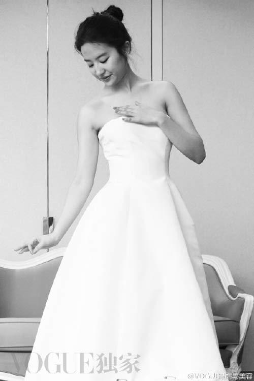 Bí mật sau vẻ đẹp nữ thần của Lưu Diệc Phi tại Cannes - 5